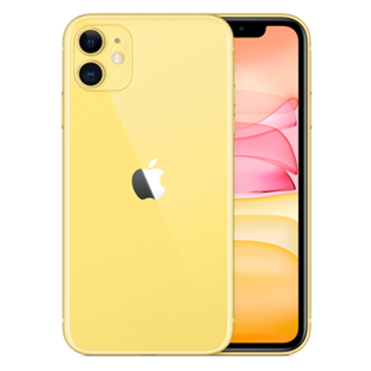 Picture of Apple iPhone 11 128GB Yellow (MWM42B)